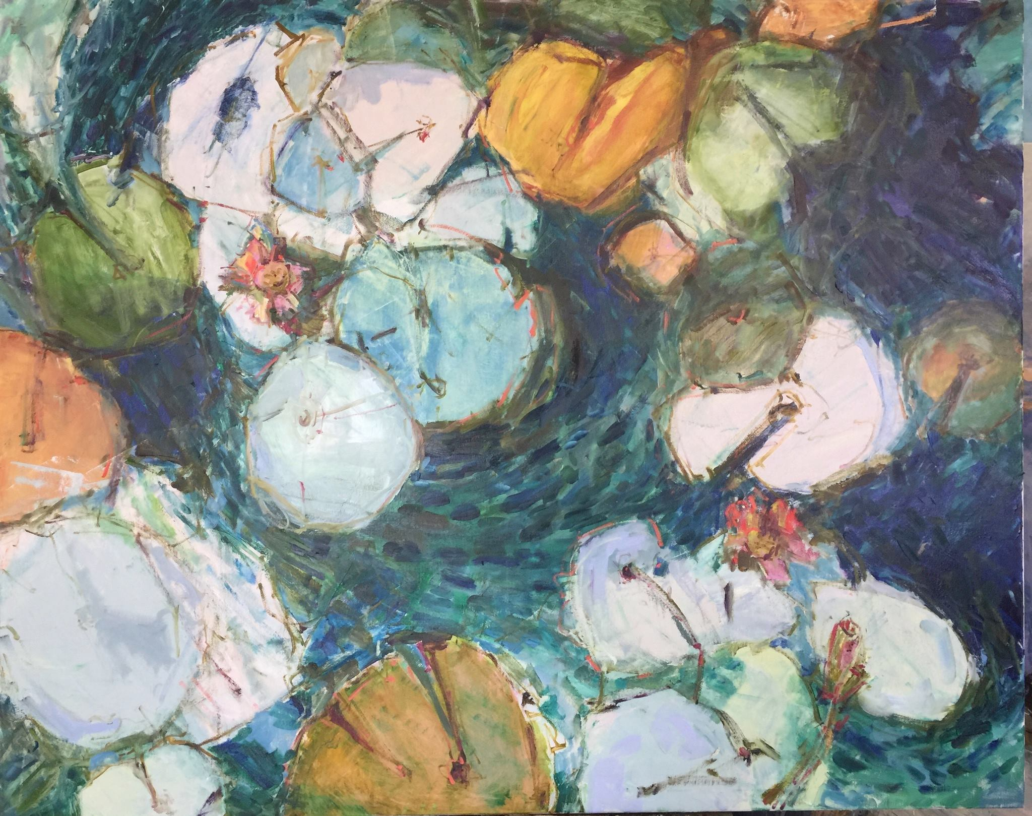 Lilypads by Sharon Hodges