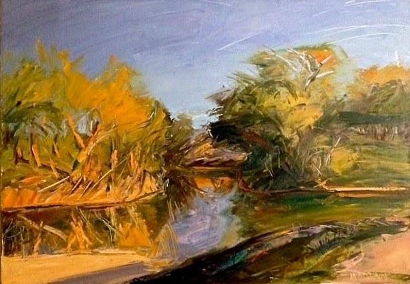 Louisa McElwain Pedernales River at BearCreek