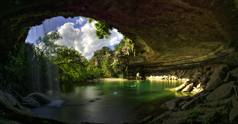 Hamilton Pool by Renn Lawrence