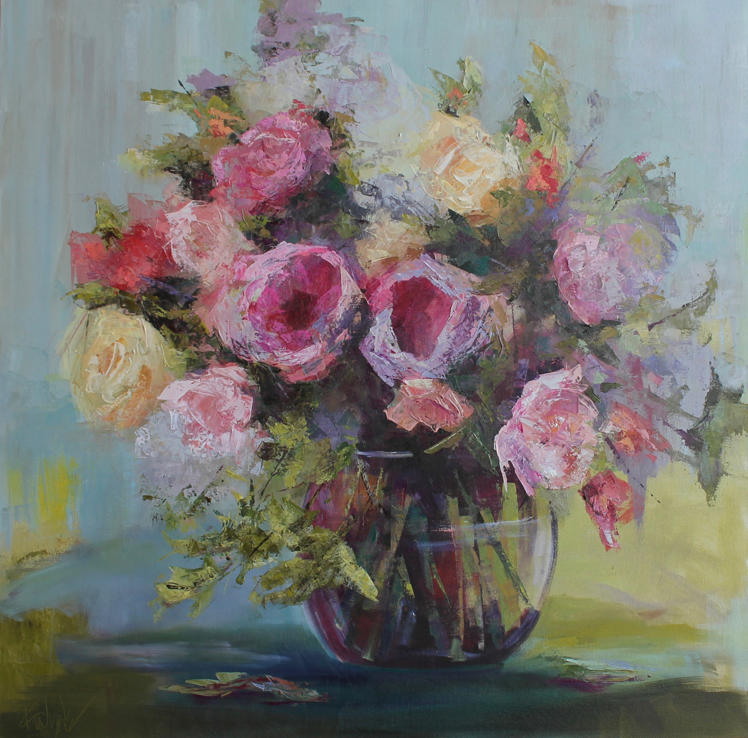 Roses Galore by Kay Wyne