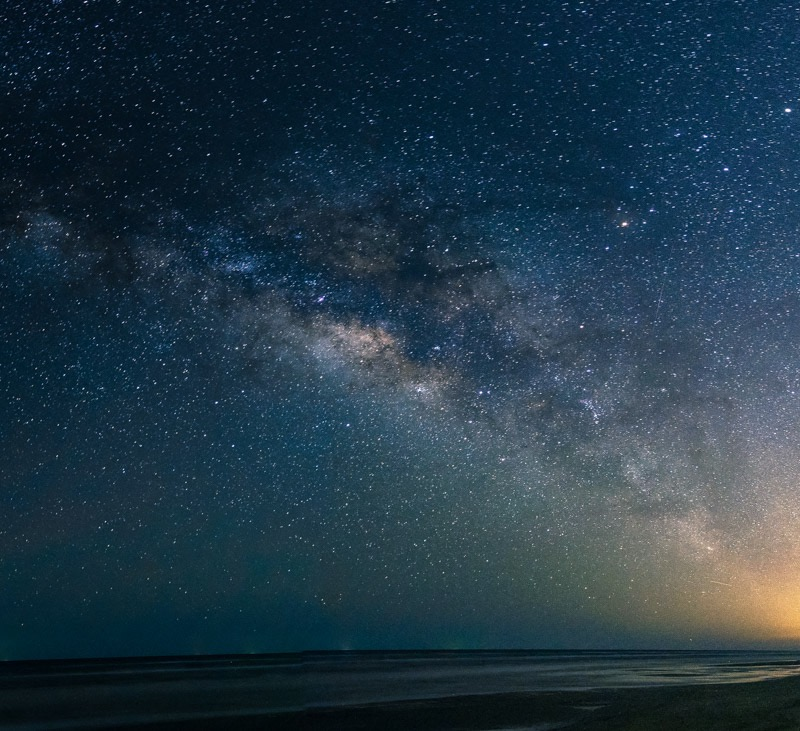 Milky Way Over Padre