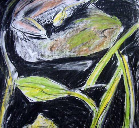 Pond Frog bu Billie Bourgeois